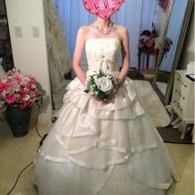 ウエディングドレス②