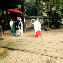 赤坂氷川神社にて