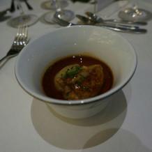 絶品すぎるフォアグラのスープ仕立て
