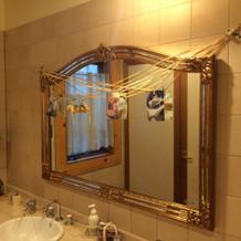 トイレもかわいく装飾してもてなす