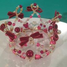 ヘア飾り 王冠