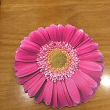 お花のコースター1