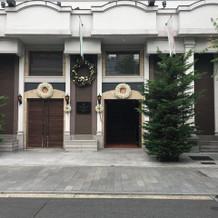 建物入り口