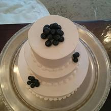 プラン内ケーキ