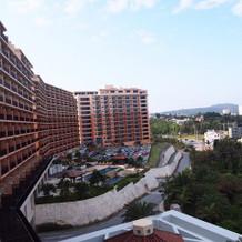 宿泊はホテル棟でした。