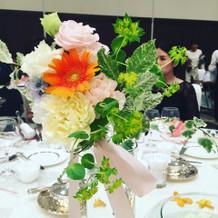 ゲストのお花
