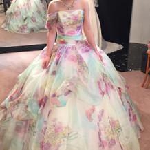 前撮り用ドレス