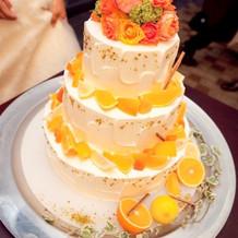 ケーキも種類はたくさんありました