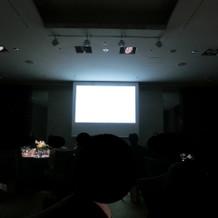 プロフィールDVDの上映。