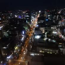 夜景もキレイです。