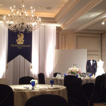 会場のお部屋の一部。