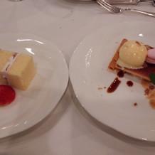 プラリネのタルト、ウェディングケーキ