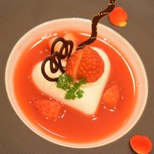 かわいいブラマンジェ美味しかった