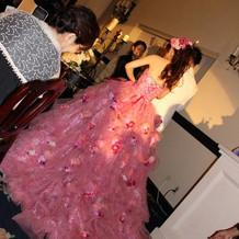 可愛いドレスがたくさんありました♪
