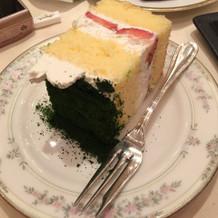 ウェディングケーキからおすそわけ。
