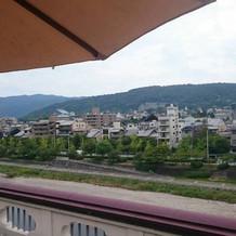 京都の眺めを楽しめます