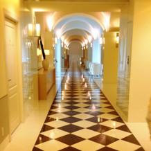 廊下も美しい
