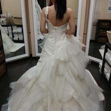 ウエディングドレス♪