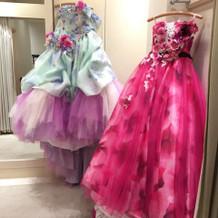 カラードレスと二次会用ドレス
