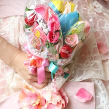 お菓子の花束 持ち込み