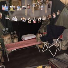 キャンプスペース兼キッズスペースです