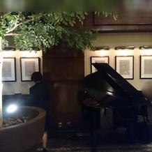 ピアノ演奏