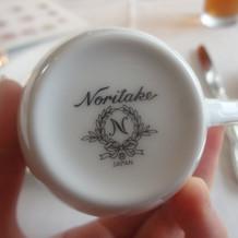 ノリタケの食器でした