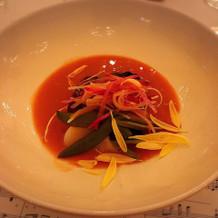 4品目魚料理(ビスク)