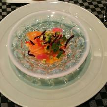 鮮魚の前菜
