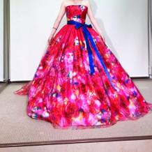 蜷川実花さんの新作ドレス