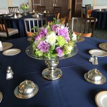 テーブル装花