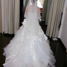 白ドレス6