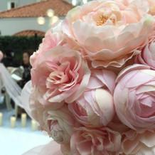 挙式会場のお花