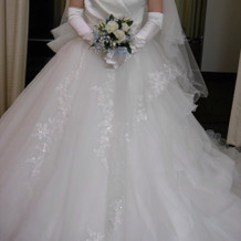 白ドレス5
