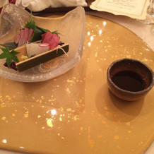 和食コースのお造り