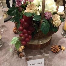 ゲストテーブル8千円