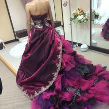 個性的なドレスも多かったです