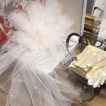 ヘッドドレス、グローブ(共に有料)