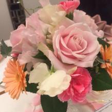 かわいい卓上花でした!