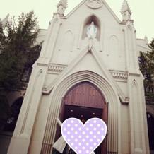 教会入り口