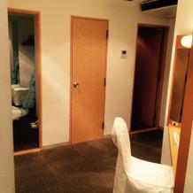 ブライズルームは2部屋あります