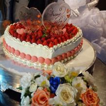 ケーキもとても可愛いケーキでした!