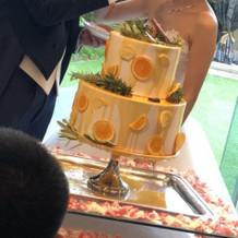 ケーキもかわいい