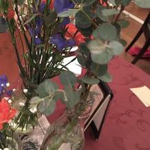 お花も予算に合わせて考えられます!