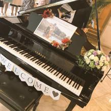 ピアノ装飾