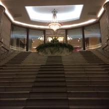 夜の大階段も好評