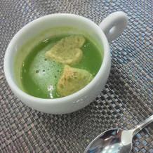 枝豆のスープ!まろやかで美味しい