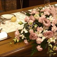 ハッピープラン内高砂装花