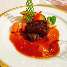 肉料理 牛ヒレのステーキ