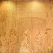 宝塚大劇場で使われていた緞帳